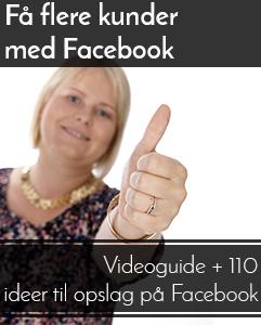 Kunder på Facebook kursus
