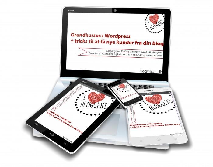 Wordpress blog kursus